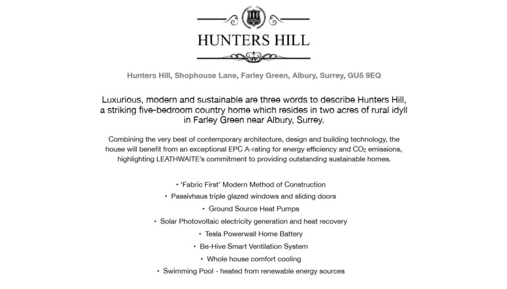 hunters hill interior design